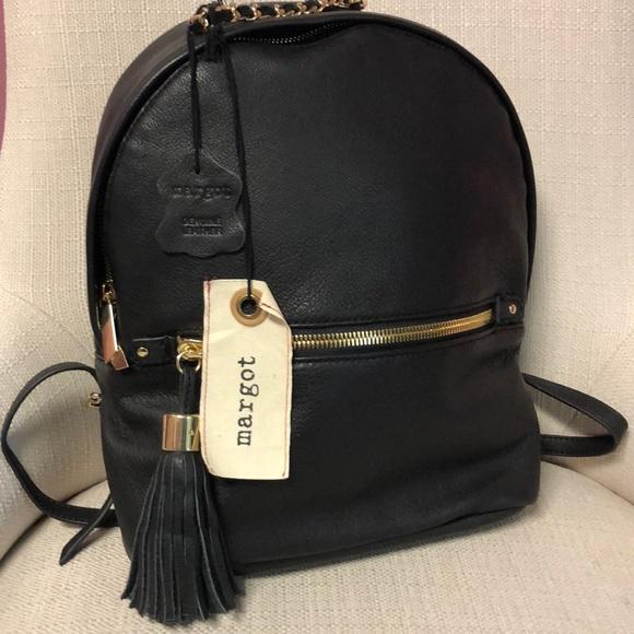 f329b5fb5 margot Bags | Nwt Soft Leather Backpack Purse | Poshmark